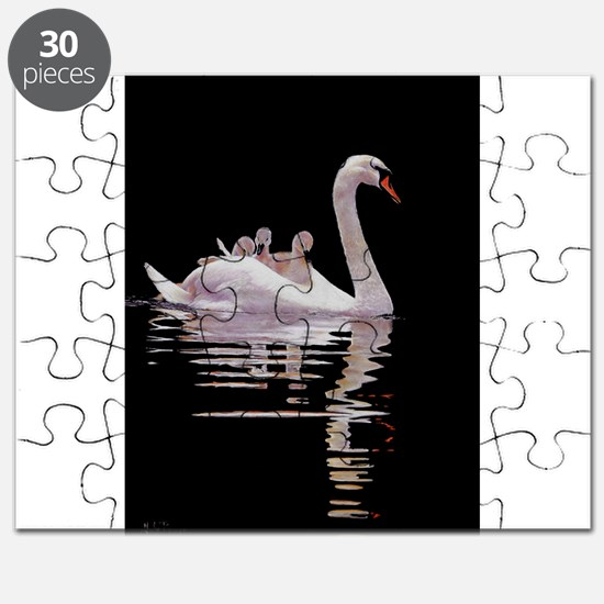 Funny Swans Puzzle