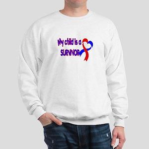 My Child is a CHD Survivor Sweatshirt