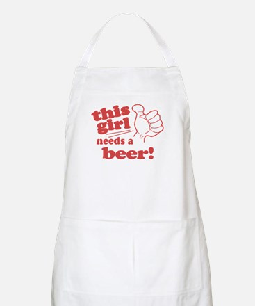 This Girl Needs a Beer Apron