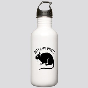 """Rats Have Rights"" Stainless Water Bottle 1.0L"