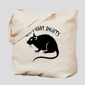 """Rats Have Rights"" Tote Bag"