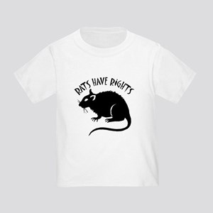 """""""Rats Have Rights"""" Toddler T-Shirt"""
