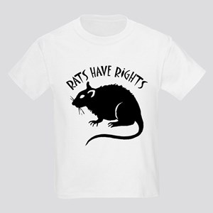 """Rats Have Rights"" Kids Light T-Shirt"