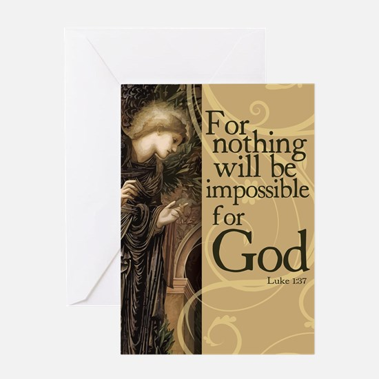 Nothing is Impossible Greeting Cards