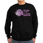 Plastic Hippo Sweatshirt (dark)