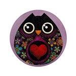 """Owl's Hatch 3.5"""" Button (100 pack)"""