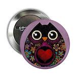 "Owl's Hatch 2.25"" Button"