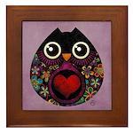 Owl's Hatch Framed Tile