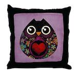 Owl's Hatch Throw Pillow