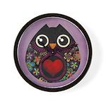 Owl's Hatch Wall Clock