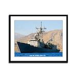 USS DE WERT Framed Panel Print