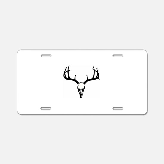 Unique Deer hunting Aluminum License Plate