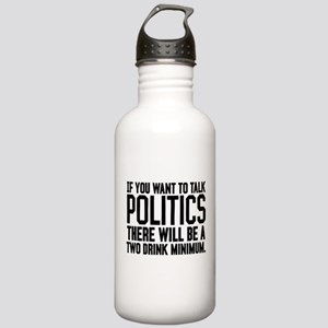 Two Drink Minimum Stainless Water Bottle 1.0L