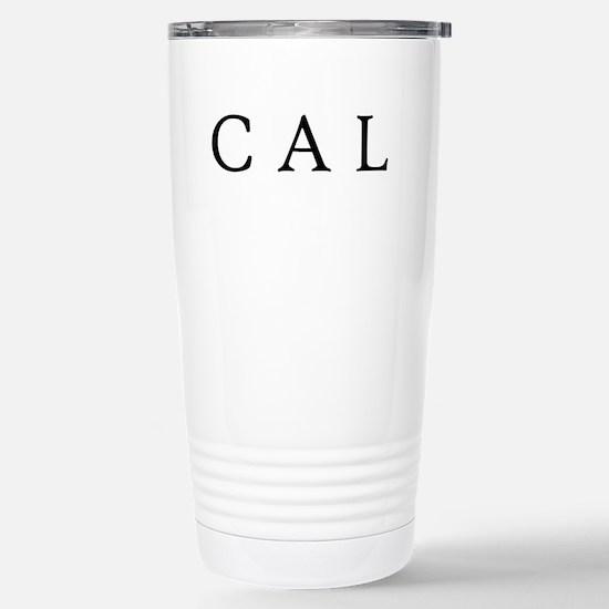 Cal Stainless Steel Travel Mug