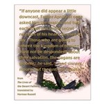 Desert Father #6, Fr. Apollo Rejoices Small Poster