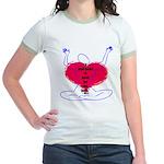 Glad Heart Jr. Ringer T-Shirt