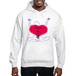 Glad Heart Hooded Sweatshirt