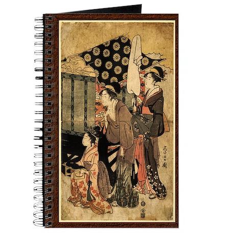 Two Geisha and Meiko Journal