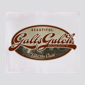 Galt's Gulch Throw Blanket