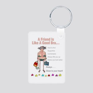 All Humor All The Time Aluminum Photo Keychain