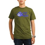 Plastic Hippo Organic Men's T-Shirt (dark)
