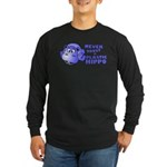 Plastic Hippo Long Sleeve Dark T-Shirt