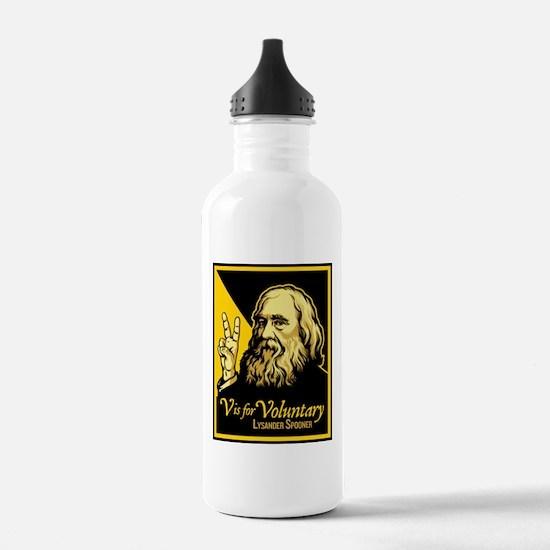 V is For Voluntary Water Bottle