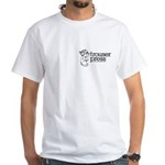 Trouser Press White T with small logo