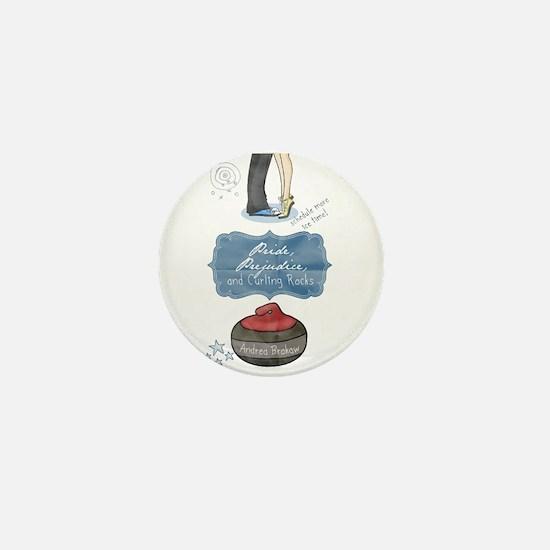 Cute Curling rocks Mini Button