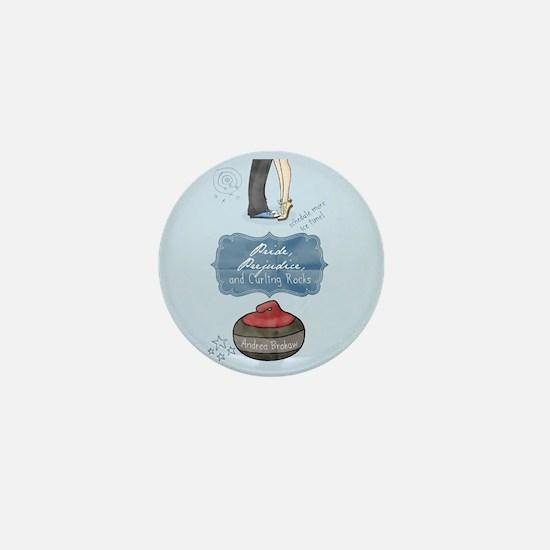 Cool Curling rocks Mini Button