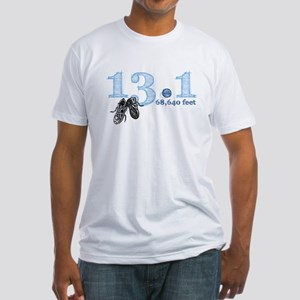 13.1 | 68,640 Feet Fitted T-Shirt
