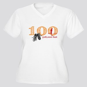 100 Mile Women's Plus Size V-Neck T-Shirt