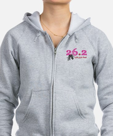 26.2 | 138,336 feet Zip Hoody