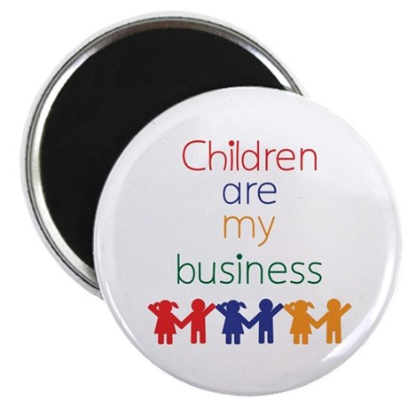 Children are my business Magnet