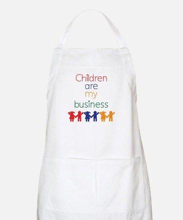 Children are my business Apron