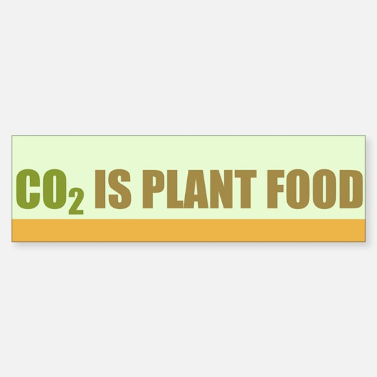 CO2 Is Plant Food Sticker (Bumper)