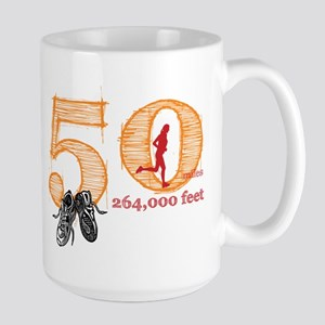 50 Mile Ladies Large Mug