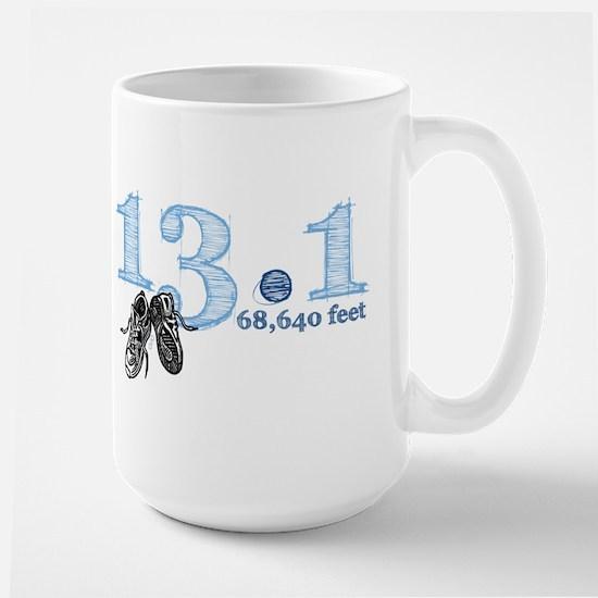 13.1 Blue Large Mug