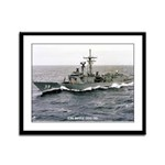 USS DOYLE Framed Panel Print