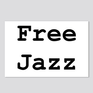 Free Jazz Postcards (Package of 8)