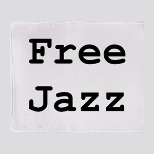 Free Jazz Throw Blanket