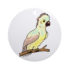 Baby Leadbeater's Cockatoo Ornament (Round)