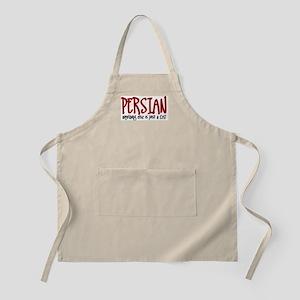 Persian JUST A CAT BBQ Apron