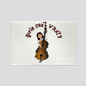 String Upright Double Bass Guitar Rectangle Magnet