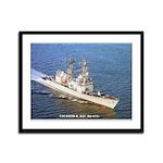 USS DAVID R. RAY Framed Panel Print