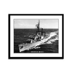USS DUNCAN Framed Panel Print