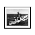 USS DUNCAN Framed Panel Print