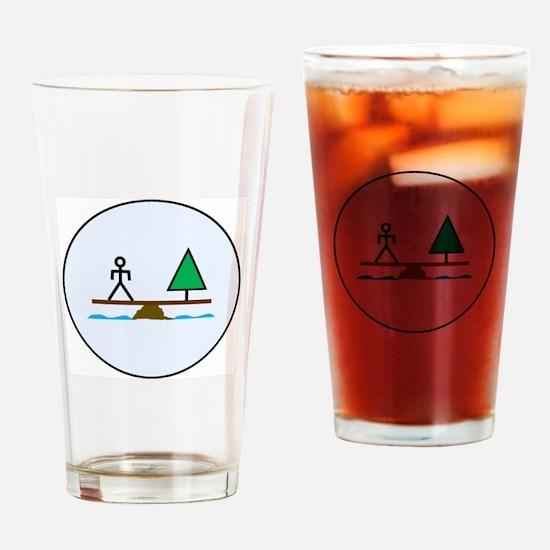 Unique Tikun olam Drinking Glass