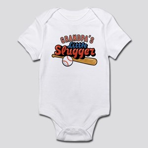 Grandpa's Little Slugger Infant Bodysuit
