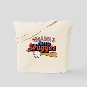 Grandpa's Little Slugger Tote Bag